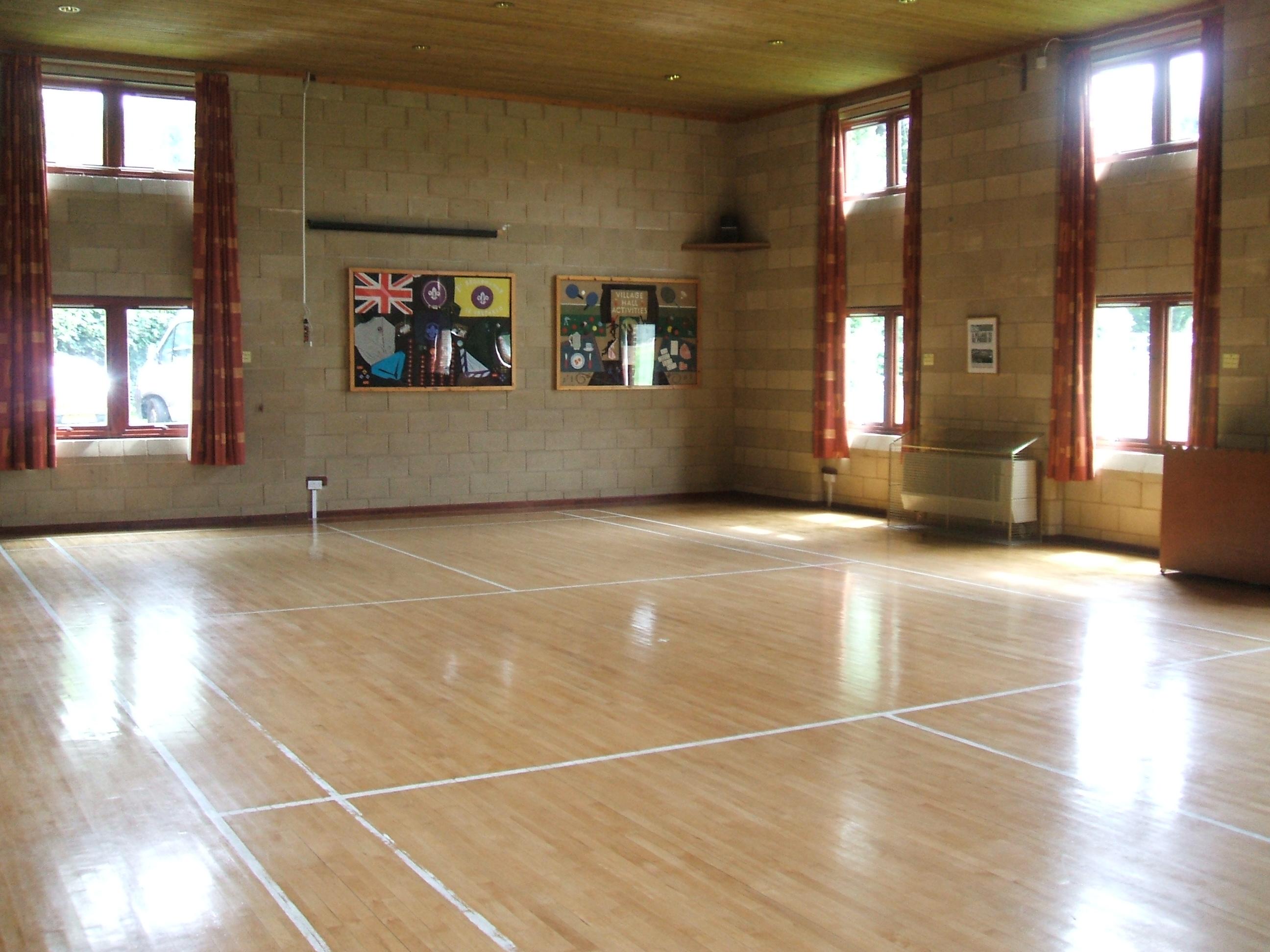 MAIN HALL. Broadmayne Village Hall   Hall Interior