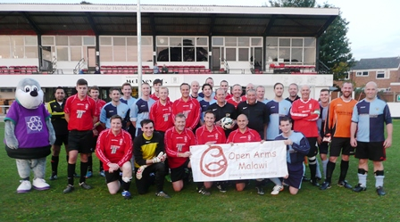 Horley Town Football Club Grounds Visited By Spence