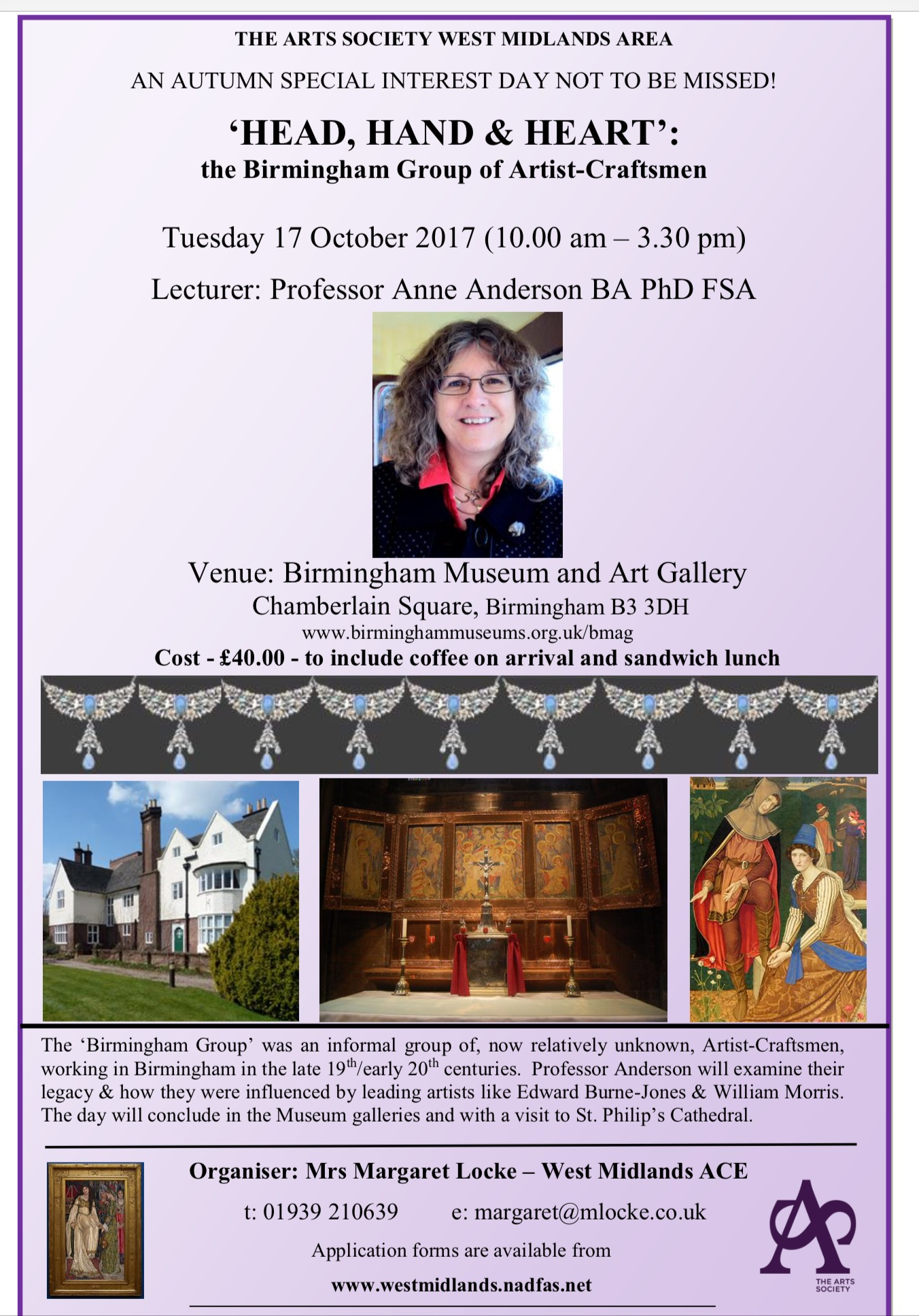 North Staffs Decorative And Fine Arts Society Notices Amp News