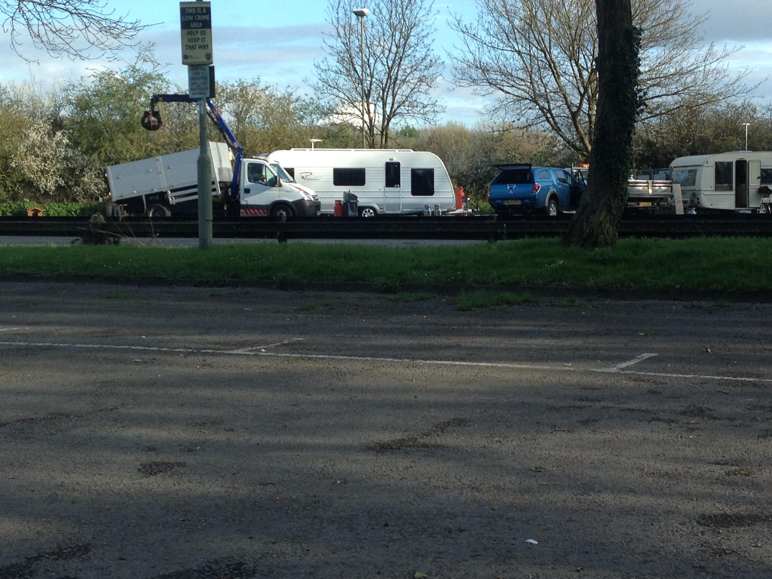 Rye Farm Car Park Abingdon