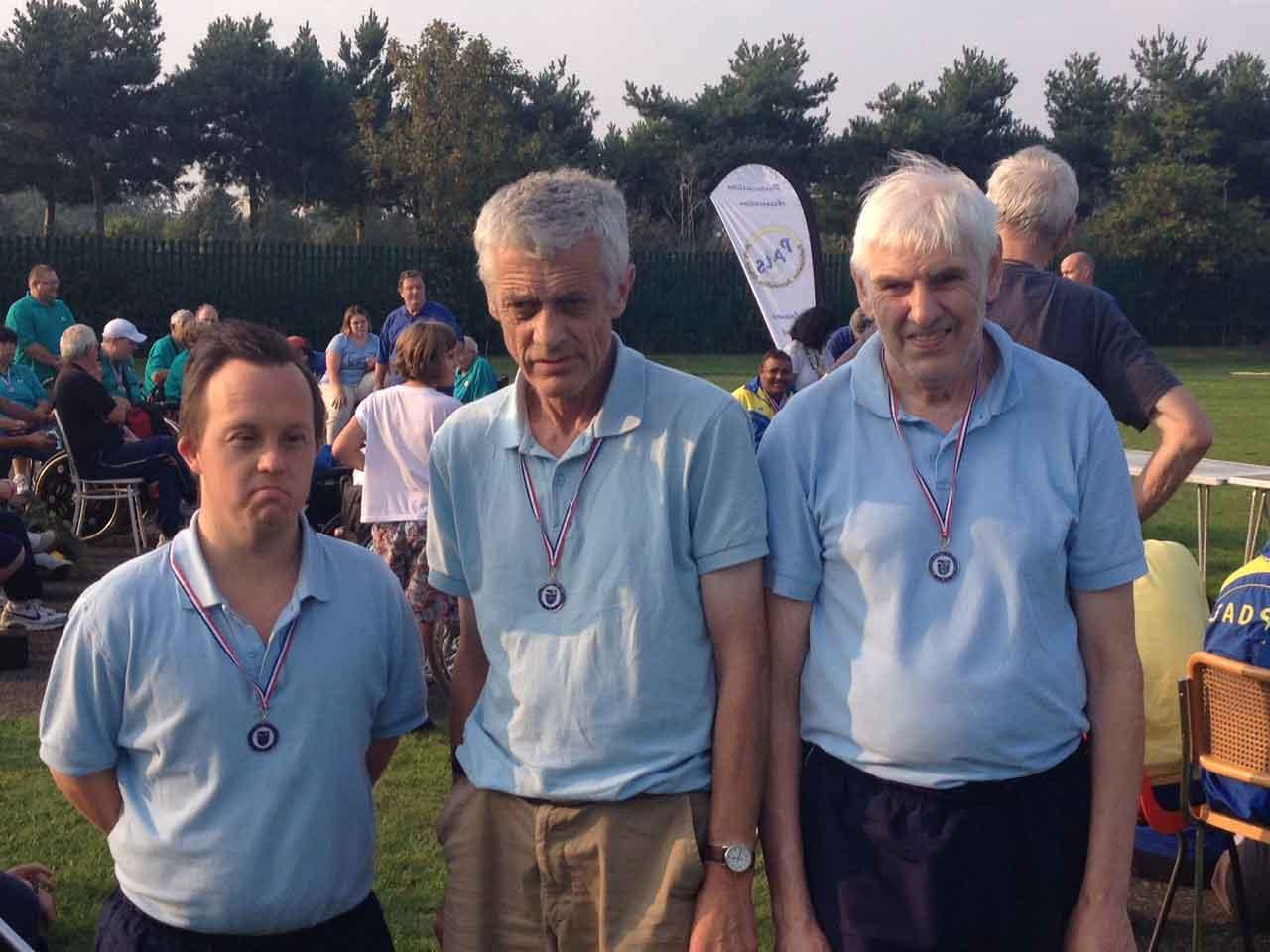 indsor Mencap Disabled Sports Team Medal Winners