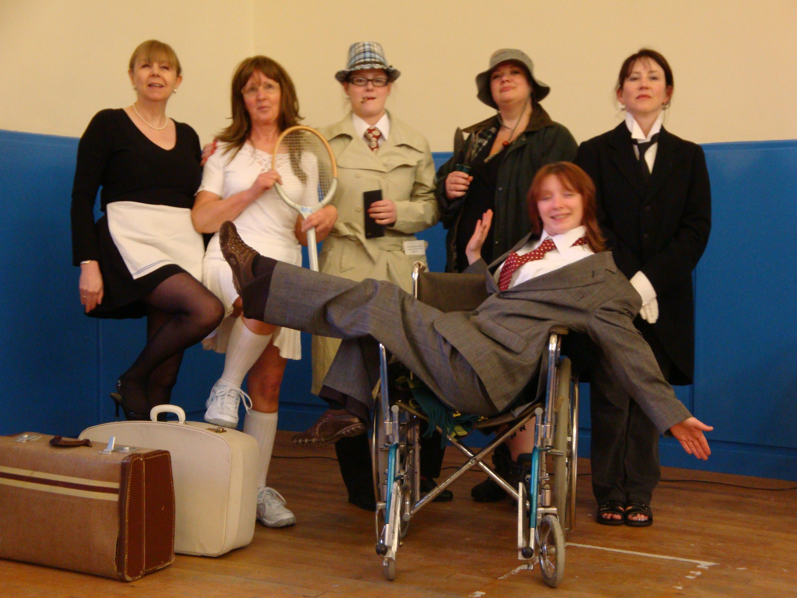 Letham Drama Group is a small, friendly, amateur live theatre group.