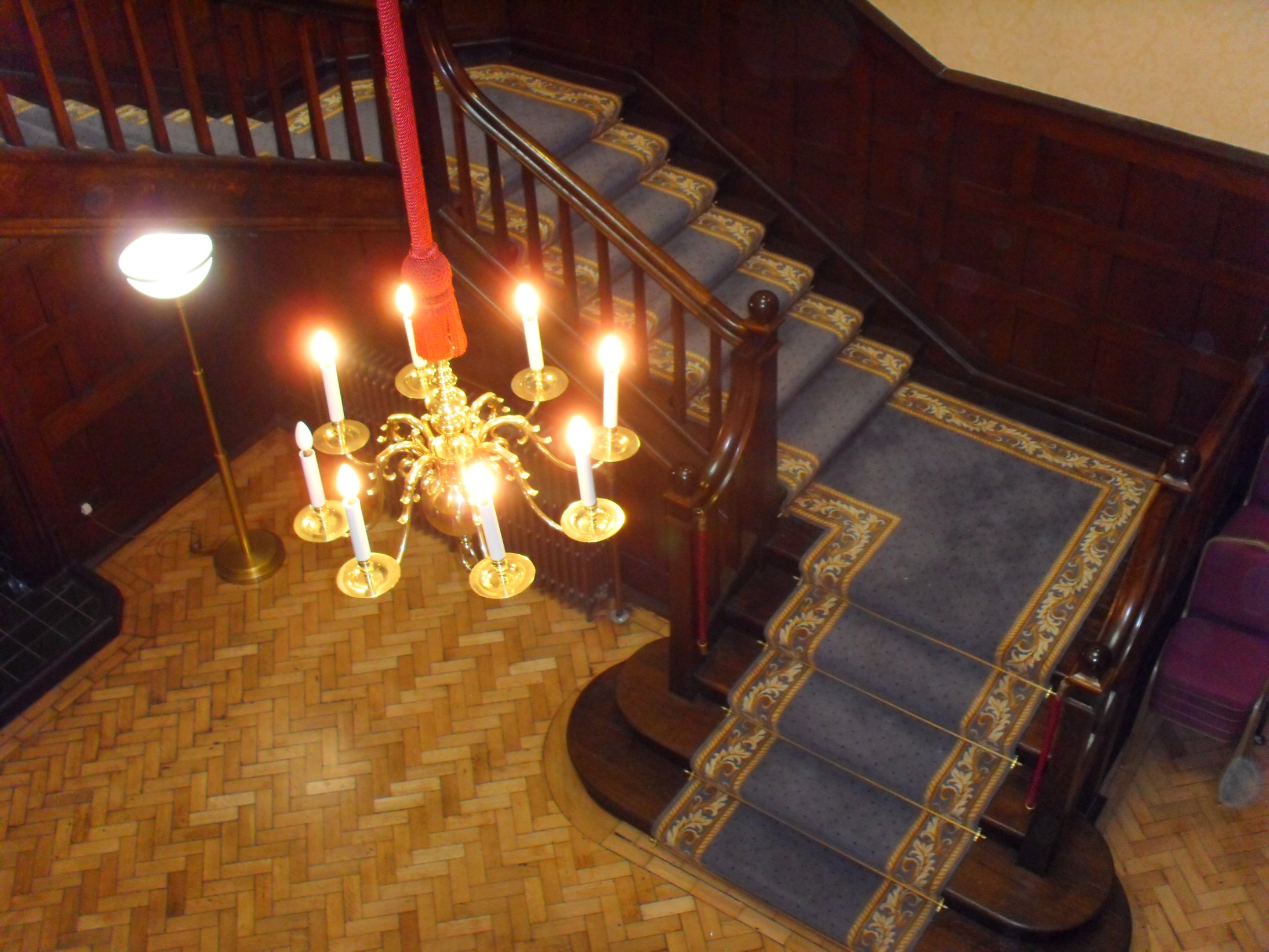 chandelier from 2nd floor.JPG