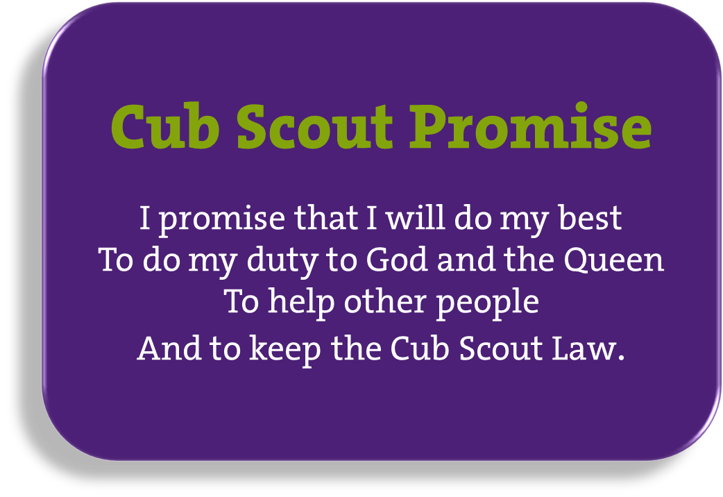 graphic regarding Cub Scout Oath Printable identify 8th St.Johns`s Scout Neighborhood - Stoke Upon Trent - Cubs