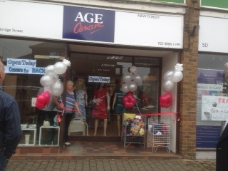 Age Concern New Forest Charity Shop Totton