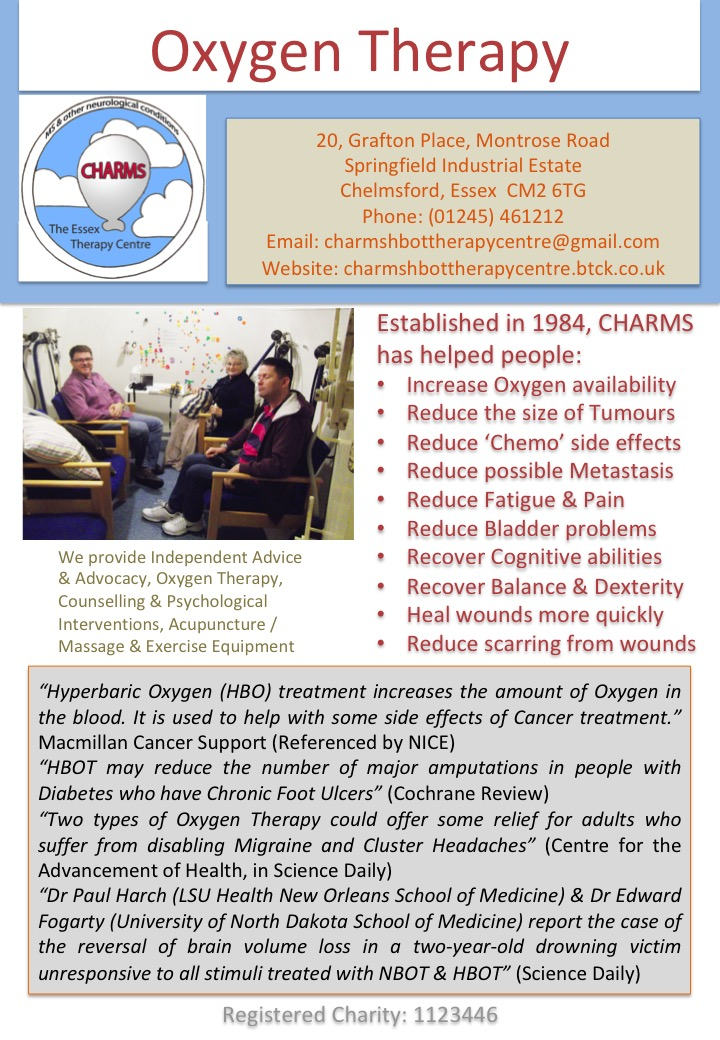 CHARMS The Essex Therapy Centre - Home