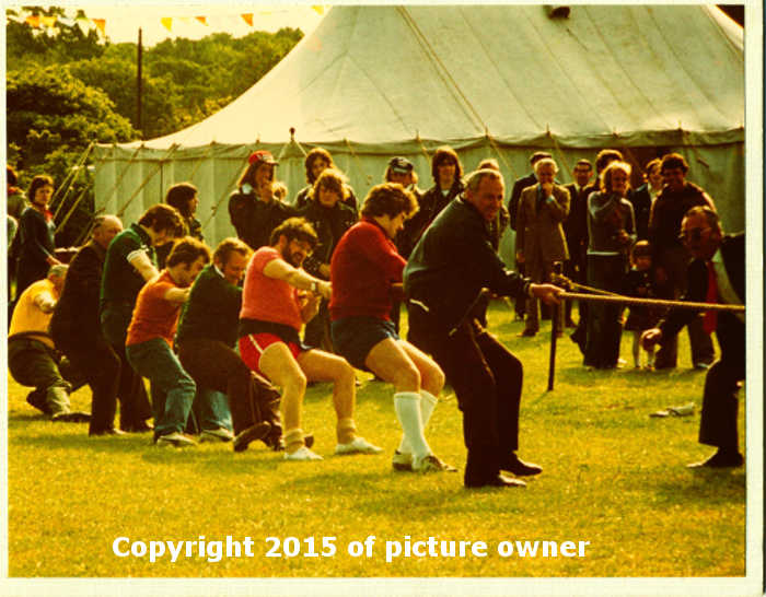 Tug of war team c1976