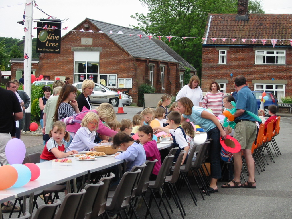 Golden Jubilee street party