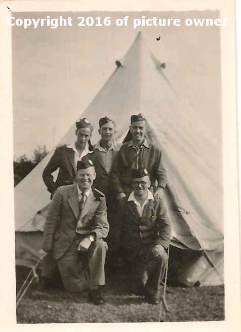 Boys Brigade camp