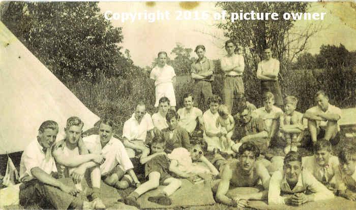 Boys Brigade Camp 1942