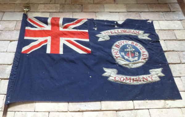 Boys Brigade Flag