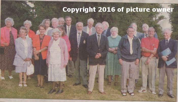 Church Brigades' reunion 2003