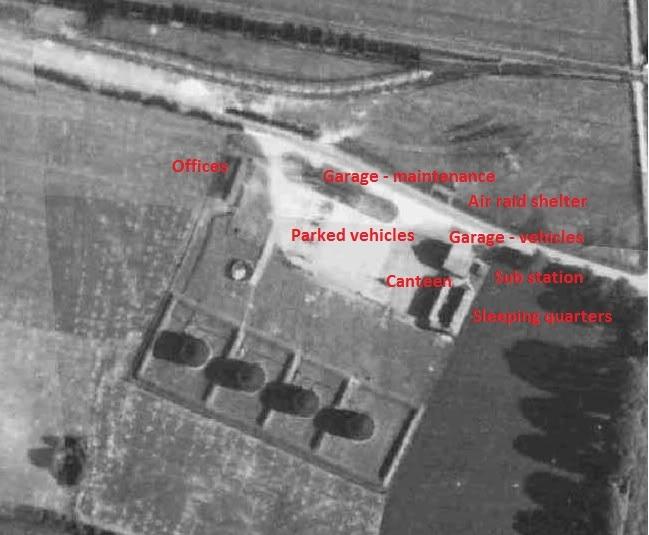 Ellingham fuel depot WWII