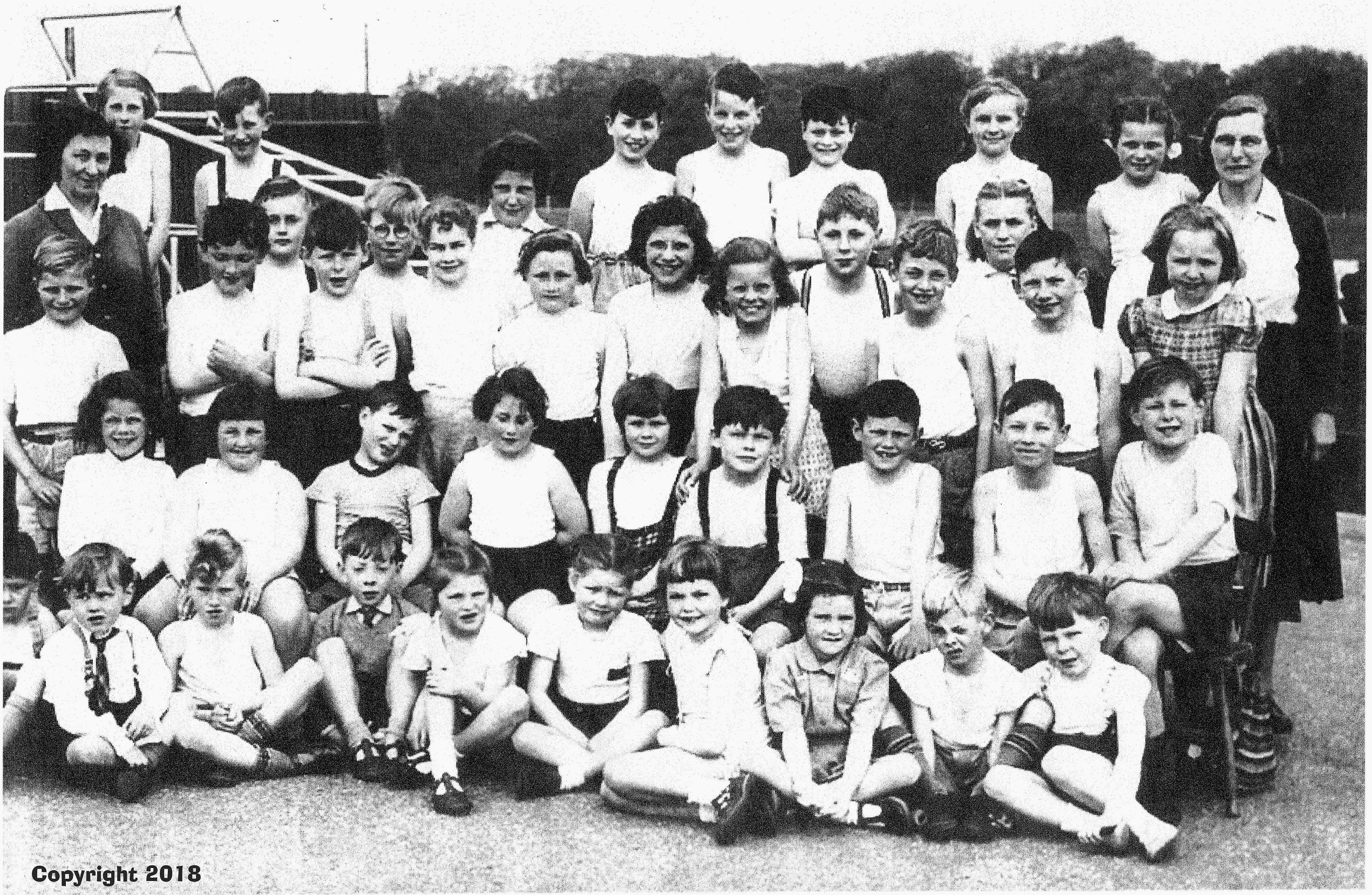 Ellingham Primary School 1957