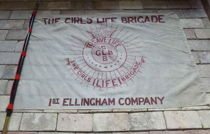Ellingham Girls Brigade flag