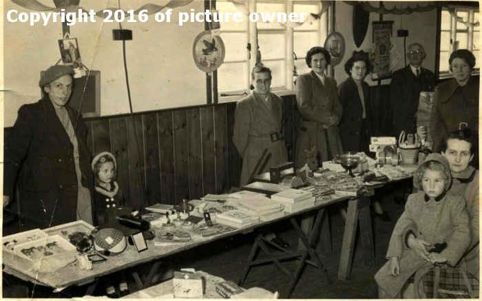 Jumble sale 1953, The Green Hut