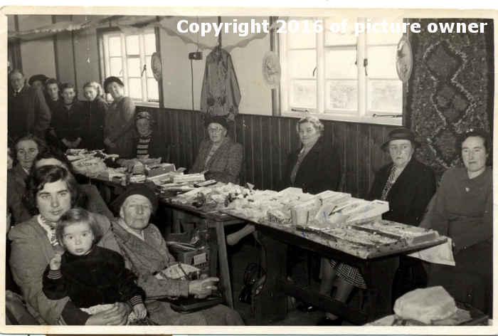 Table-top sale circa 1953