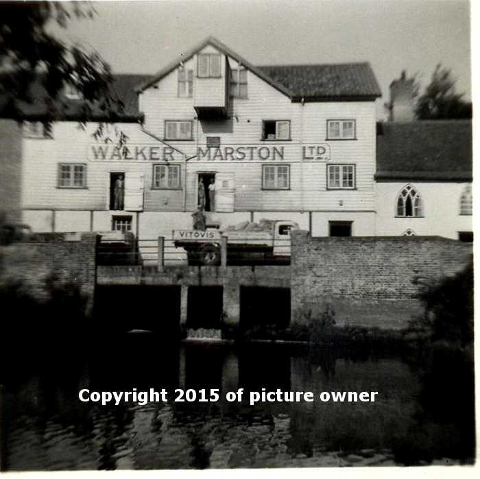 Ellingham Mill at work
