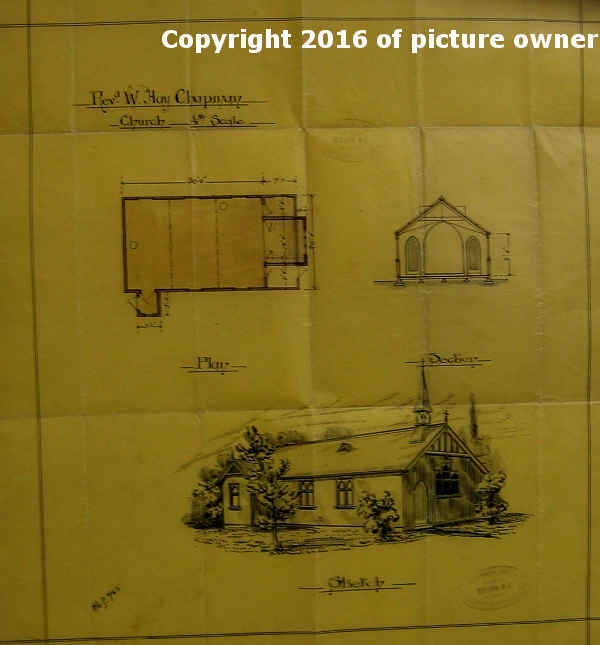 Plans of St Mark's Mission Hall