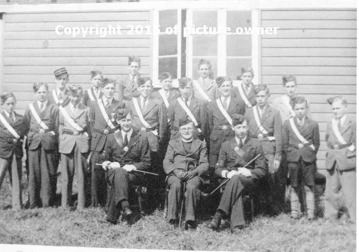 Ellingham Boys Brigade 1946