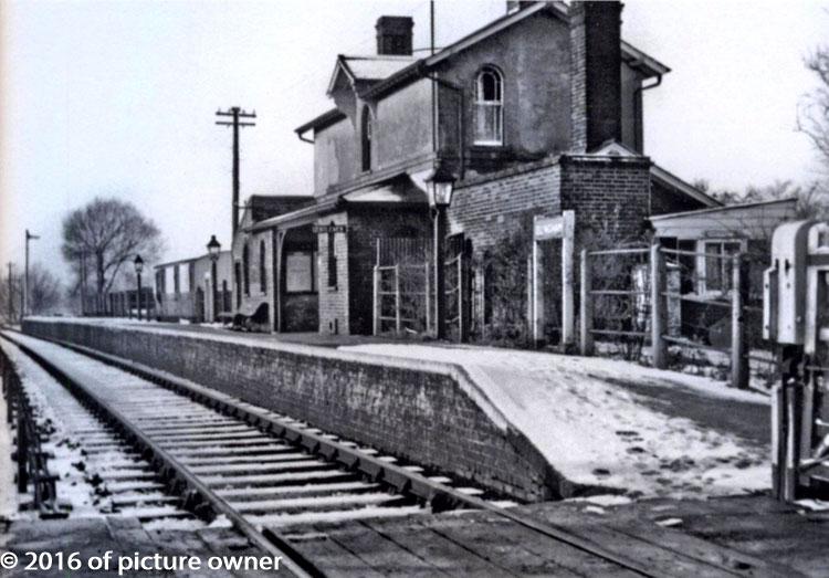 Ellingham railway station