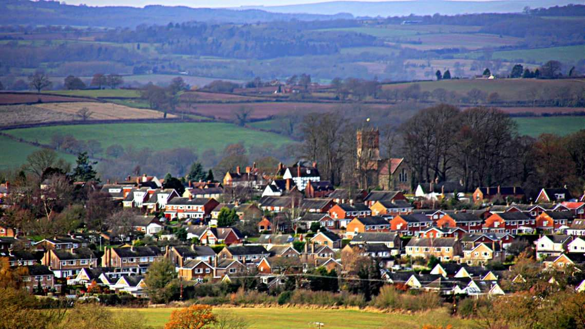 Alveley village