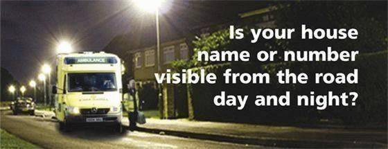 is your name visible