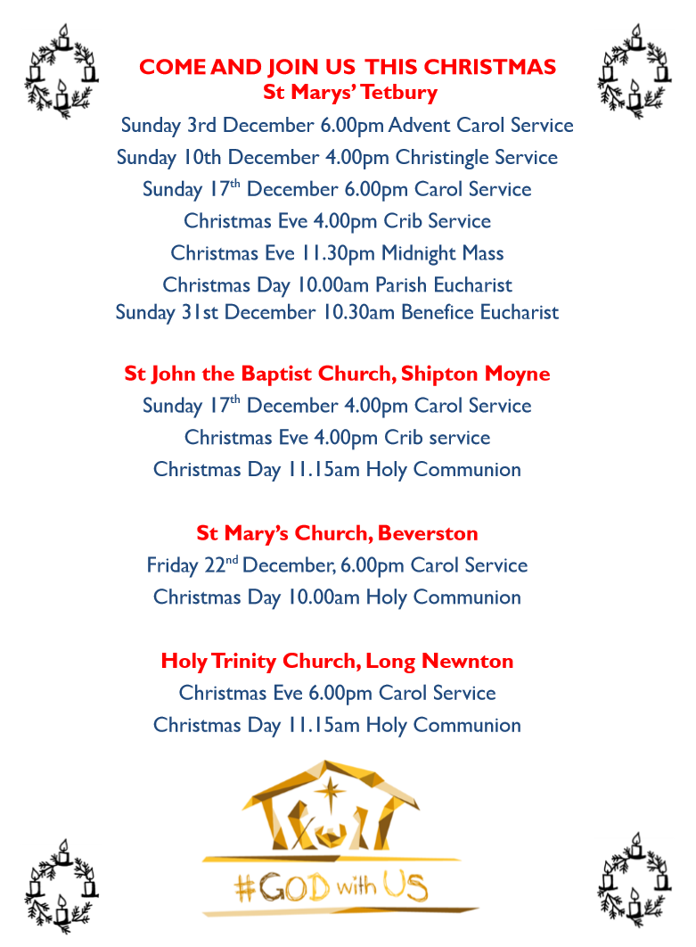 Christmas Services at St Marys