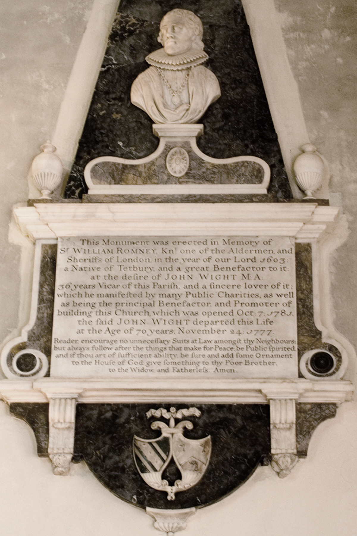 Sir William Romney monument