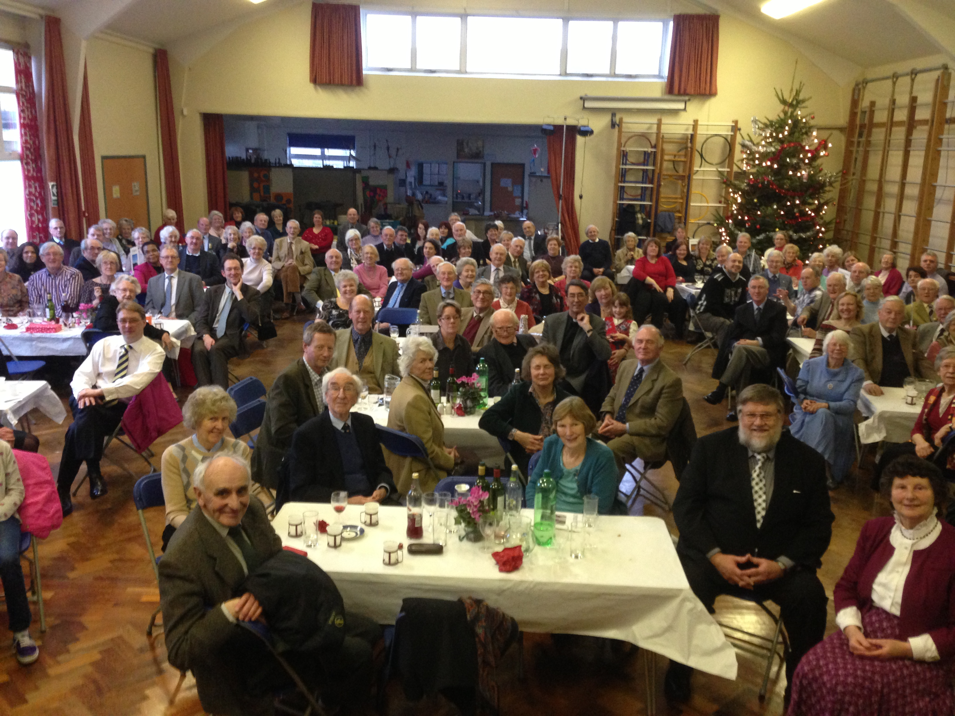 Lunch to Celebrate the Retirement of John Wright, Rector of St Marys, Jan 2013