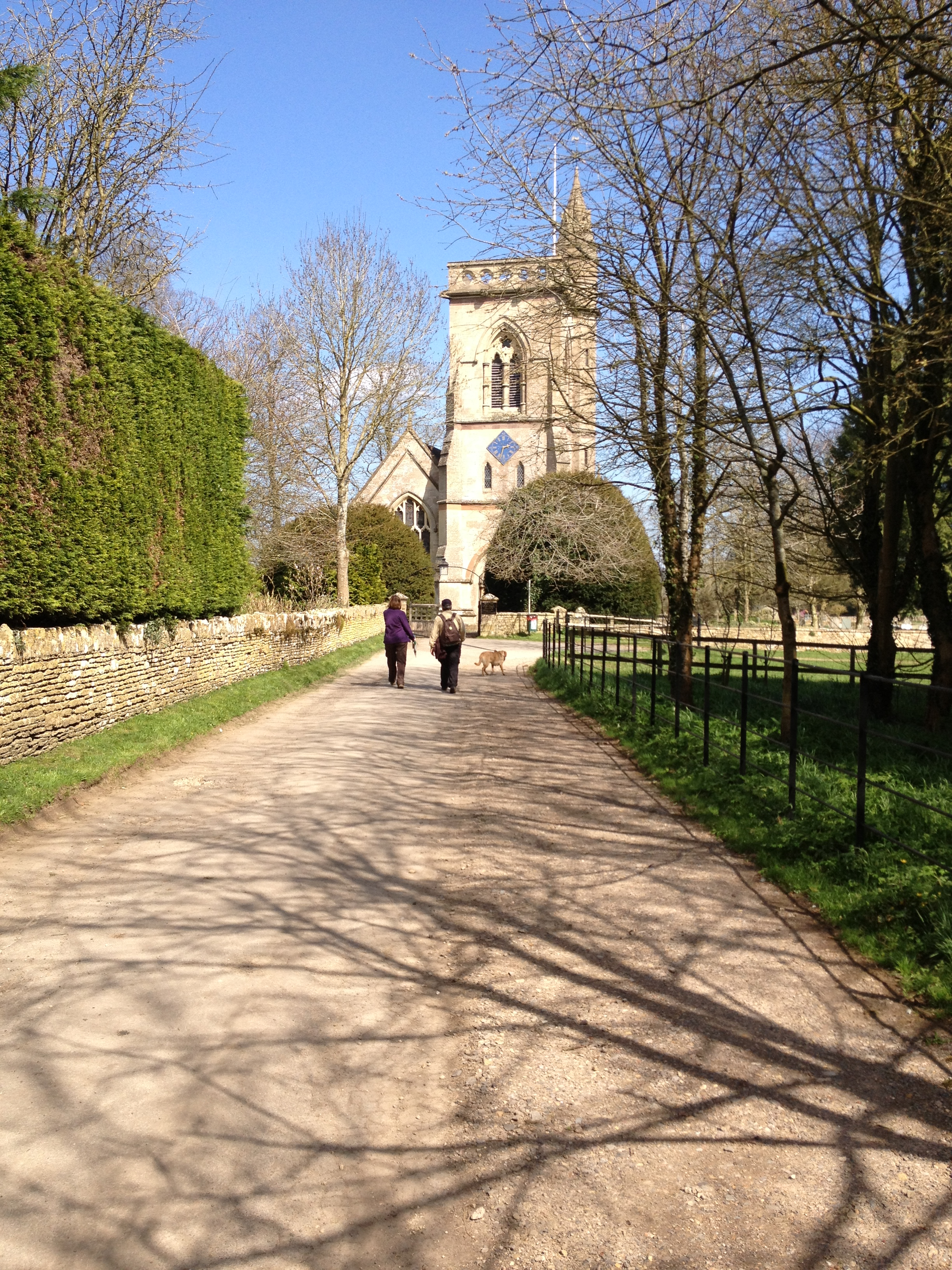 Trek Between Churches in the Benefice, May 2013
