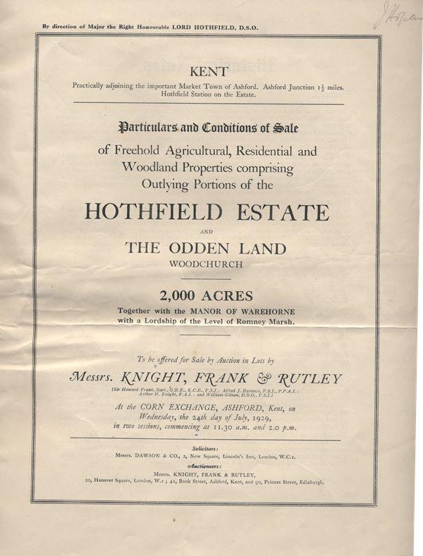 Auction Catalogue cover