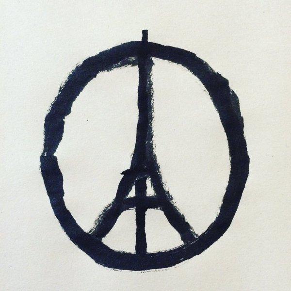 Paris Peace Symbol