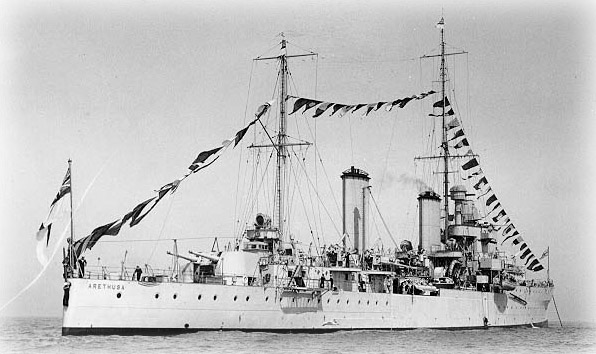 Link to HMS Arethusa
