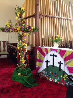 Easter Cross at St George's