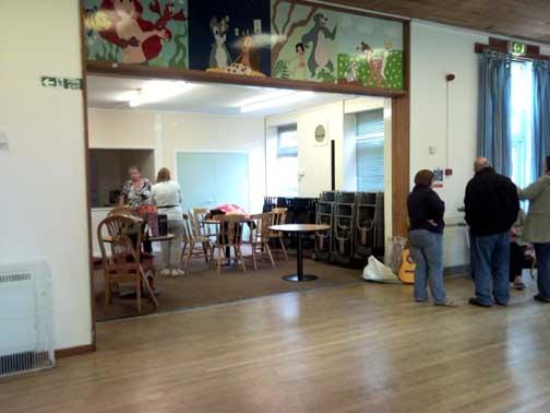 Newbury Community Centre Hall And Lounge