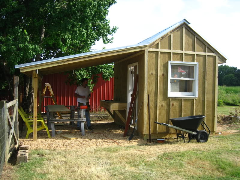 Red house farm allotment society sheds for Side of the house storage shed