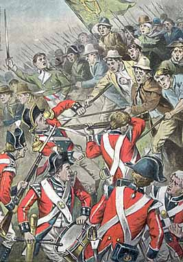 English and Scots Soldiers in The 1798 Rebellion in Ireland