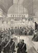 Benjamin Disraeli Visit to Manchester 1872