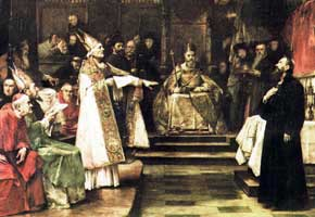 The Council of Constance where Huss was Sentenced to Death.