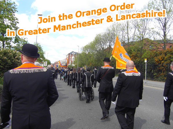 Join The Orange Order in Manchester