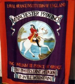 History of The Orange Order in Manchester
