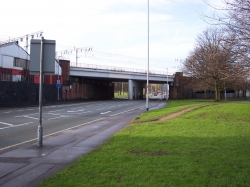 The site of the fenian ambush oh Hyde Road