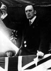 Sir Edward Carson at Manchester Free Trade Hall