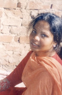 Asia Bibi. A head and shoulders photo.