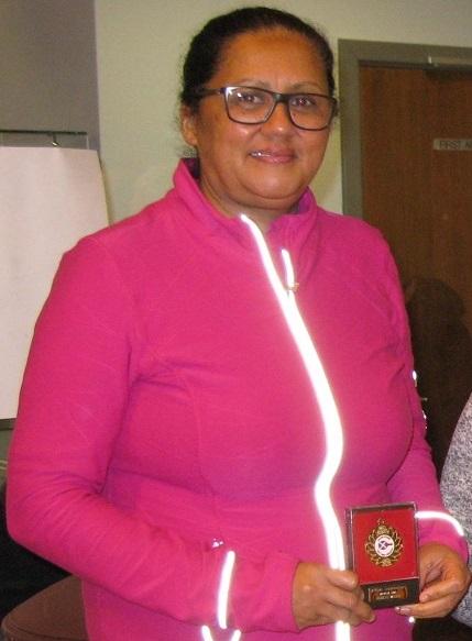 Joy Daniels - National Ladies' Vets Champion