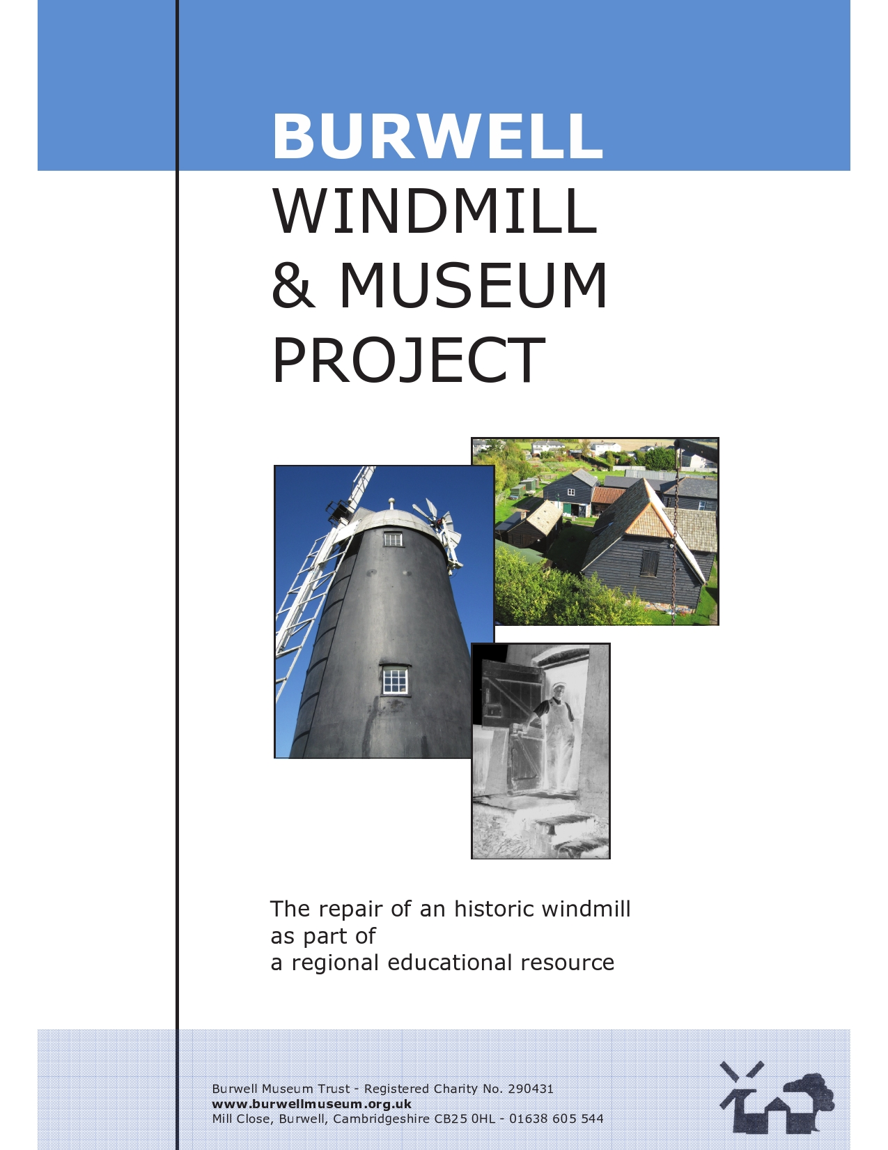 Burwell Windmill Project brochure