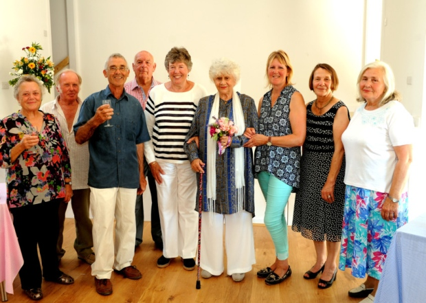 Ashurst Village Hall Opened by Lady Olivier, Dame Joan Plowright