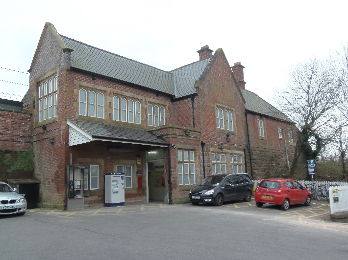 Car Parking At Newton Le Willows Station