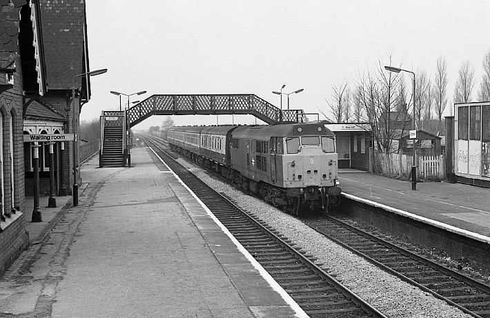 The Sidings Liverpool The Wcml In Mid Lancashire